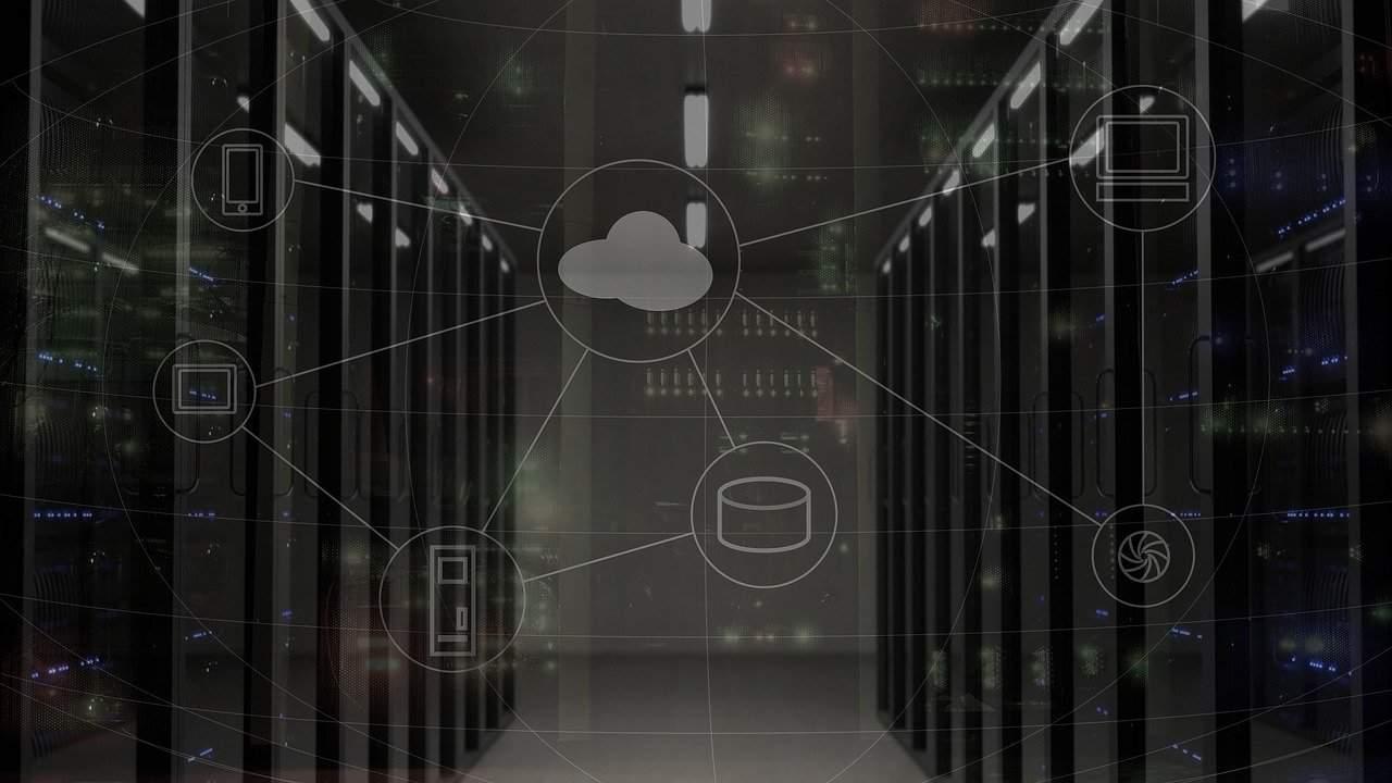 virtual private server graphic
