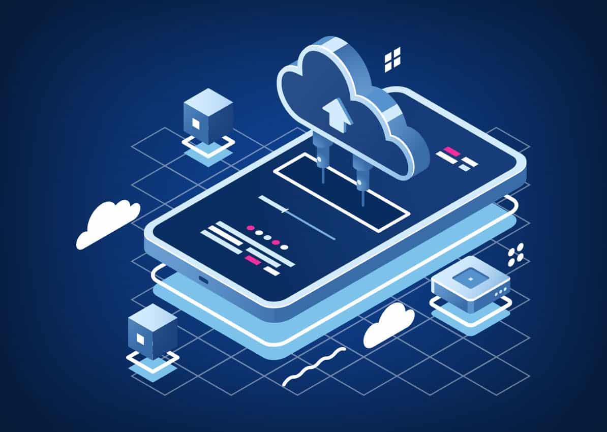 cloud vps mobile app
